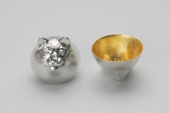 610081_Sake_Cup_Oriental_Zodiac_[gold]_Tiger