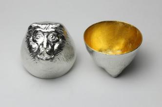 610087__Sake_Cup_Oriental_Zodiac_Monkey_gold