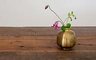 秋の草花を真鍮で愛でる特集