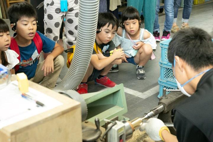 子ども向け工場見学「いものを学ぼう」