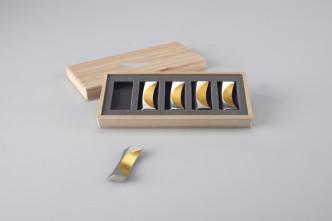 511710_Chopstick Rest – moon – set of 5 [gold]