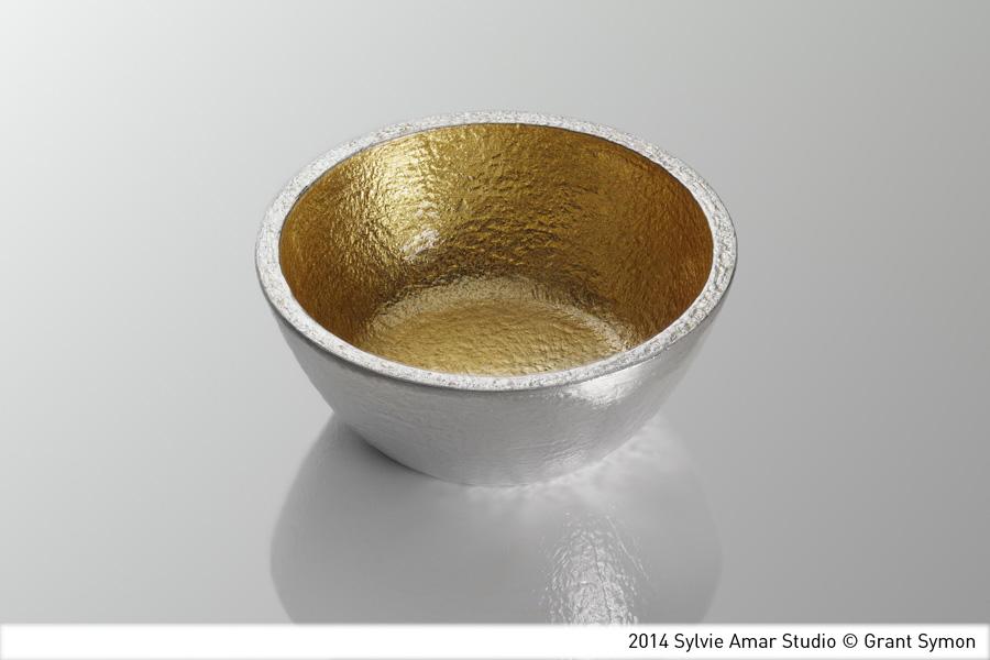 spice pot - gold